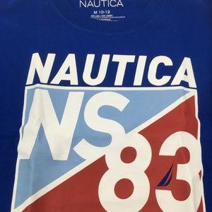 Nautica Shirts & Tops - Nautica Big Boys' Short Sleeve Sailing Tee 10/12